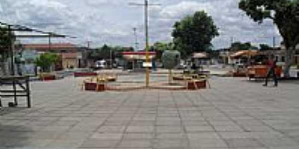 Praça Luiz Duarte em Estrela de Alagoas-Foto:Sergio Falcetti