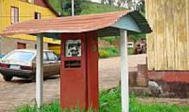 Evangelista - Posto de gasolina-Foto:melissa.cunha