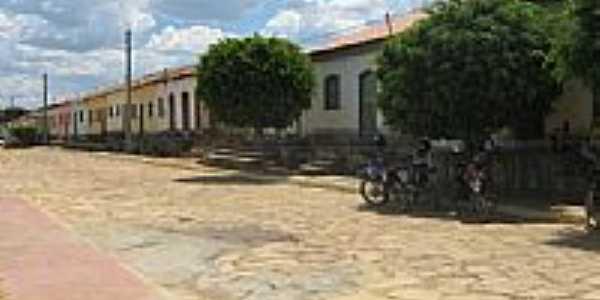 Rua e Casario de Lagoa Clara-BA-Foto:Marcio Vaz Cardoso