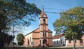 Formigueiro - Igreja Católica em Formigueiro-Foto:Guilherme Vargas Sim…