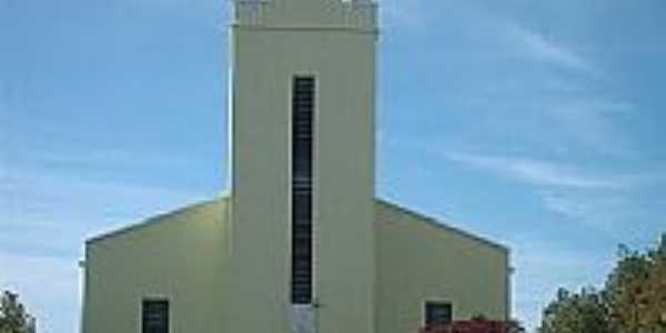 Igreja Luterana em Formigueiro-RS-Foto:Guilherme Vargas Sim…
