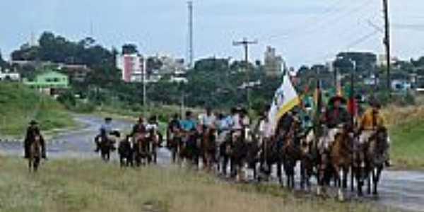 FredericoWestphalen-RS-2ª Cavalgada da Integração-Foto:Luiz Carlos Santos