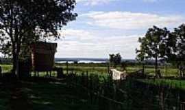 Garruchos - Vista do Rio Uruguai-Foto:Denilson Ortiz Lopes