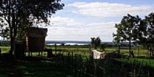 Vista do Rio Uruguai-Foto:Denilson Ortiz Lopes