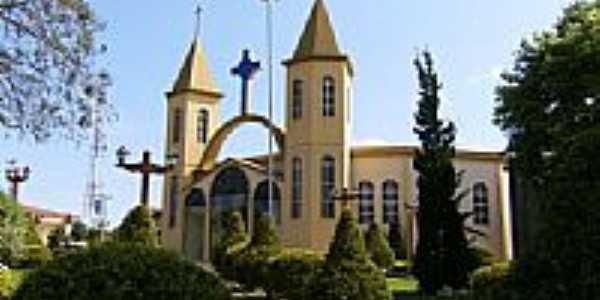 Igreja Matriz de Gentil-Foto:Eliézer Jose da Silv…