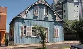 Get�lio Vargas - Get�lio Vargas-RS-Casa em estilo europeu-Foto:Cezar Mario Rech