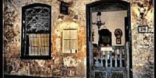 Restaurante com fachada antiga em Lagoa Grande-Foto:Gabriel Durdos