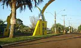 Giruá - Pórtico de entrada-Foto:sonntag1