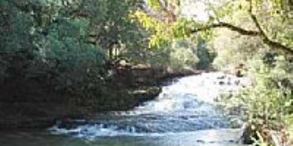 Cascata dos Scherer, em Giruá
