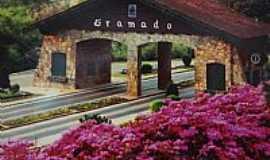 Gramado - Gramado-RS-Portal de entrada da cidade-Foto:Pe. Edinisio Pereira�
