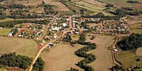 Vista aérea de Gramado dos Loureiros-Foto:P.M.