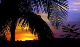 Harmonia - Por do sol tirado da pra�a na entrada da cidade., Por Darlan Raymundo