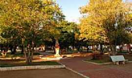 Herval - Praça central de Herval-Foto:ANELISE KUNRATH