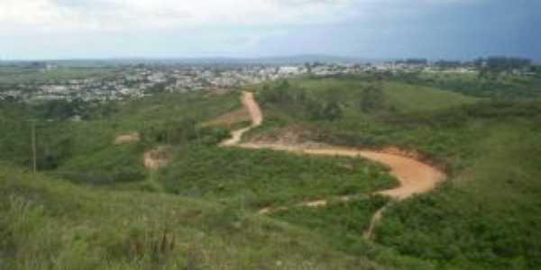 cidade de herval rs, vista do ponto mais alto, Por RENATO AZAMBUJA CAETANO