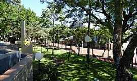 Horizontina - Horizontina-RS-Praça no centro-Foto:wp.clicrbs.com.br