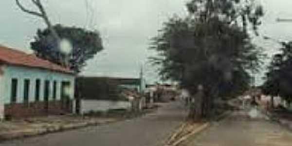 Lagoa José Luis-BA-Rua principal-Foto:mapcarta.com