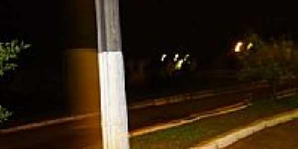 Avenida em Ibiraiaras-RS-Foto:Vanderlei Kriesang