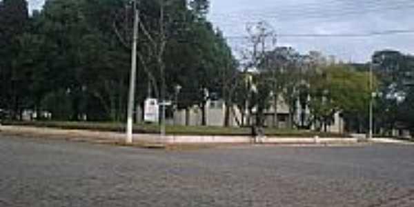 Praça central de Ibiraiaras-RS-Foto:calculo70