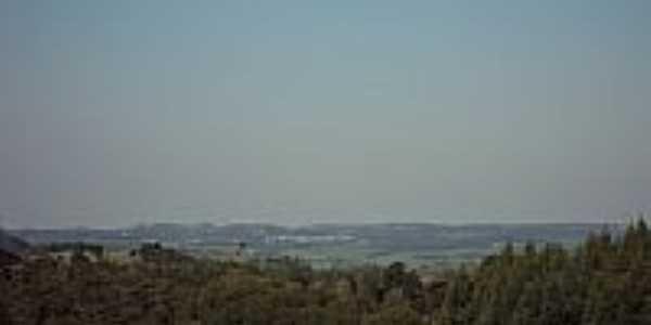 Vista da cidade de Ibiraiaras-RS-Foto:ezbonatto