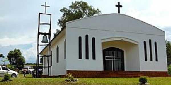 Ibirapuitã-RS-Capela de São Pedro na Comunidade de Quebra Dentes-Foto:Fredy Silva