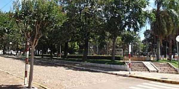 Ibirapuitã-RS-Praça da área central-Foto:Fredy Silva