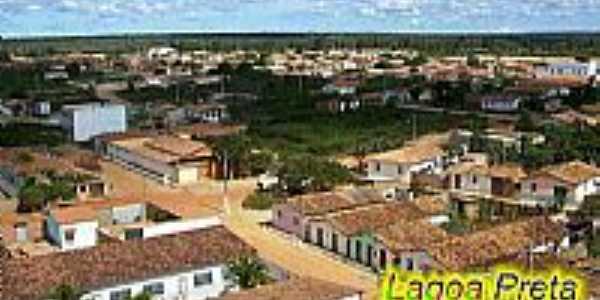 Lagoa Preta-BA-Vista da cidade-Foto:lagoapretaparacristo.