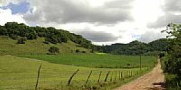 Estrada de terra-Foto:rafaelmacall