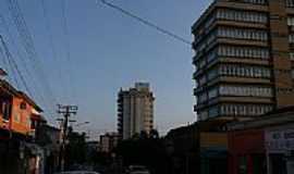 Ijuí - Rua 7 de Setembro no centro em Ijuí-RS-Foto:Micaela Havengard
