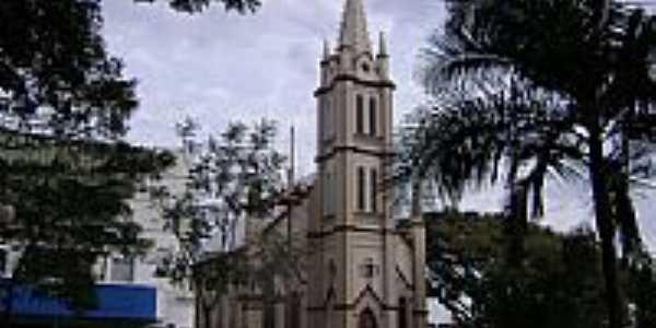 Igreja de N.Sra.da Natividade em Ijuí-RS-Foto:José Carminatti