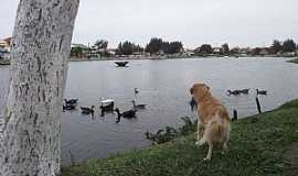 "Imb� - Imb�-RS-Bela imagem do lago""Bra�o Morto""-Foto:Susy Dienstbach"
