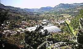 Imigrante - Vista do centro de Imigrante-Foto:cristianzerwes