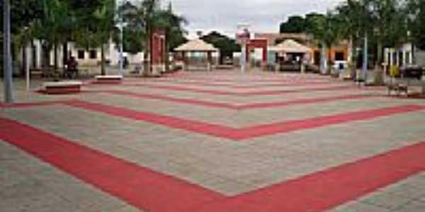 Lagoa Real-BA-Praça Pedro José de Oliveira-Foto:leocardosolobo
