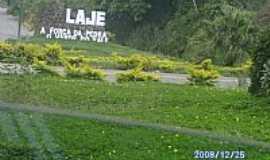 Laje - Entrada da cidade de Laje-BA-Foto:Edmundo Santos