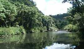 Ivorá - Rio Melo no interior de Ivorá-Foto:Luiz Carlos Santos