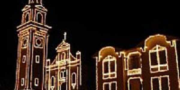 Igreja Matriz no Natal-Foto:MDZancan