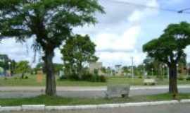 Jaguarão - Praça perto do Cine Regente, Por Mirian Carvalho da Silva