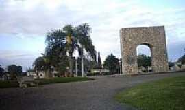 Jaguarão - Praça Comendador Azevedo em Jaguarão-Foto:Ubirajara Buddin Cru…
