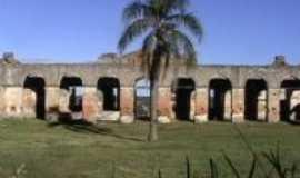 Jaguarão - pátio da enfermaria ruinas , Por julio carlos ramos raymundo