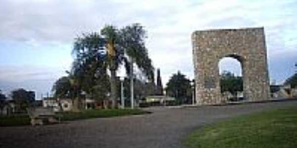 Praça Comendador Azevedo em Jaguarão-Foto:Ubirajara Buddin Cru…