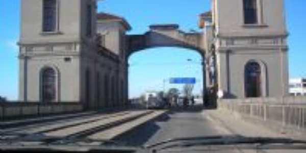 ponte de Jaguarão, Por José