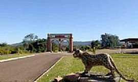 Jaguari - Pórtico de Entrada-Foto:Gerson Gerloff