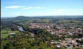 Jaguari - Vista aérea da Cidade