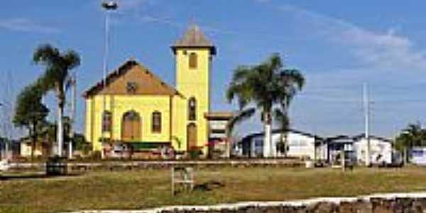 Igreja Católica em Jaquirana - RS - por gcoster