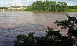 Lajeado - Rio Taquari visto do Mirante-Foto:gauchodorio