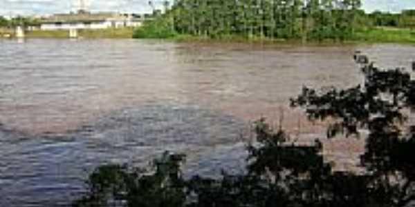 Rio Taquari visto do Mirante-Foto:gauchodorio