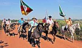 Lajeado do Bugre - Cavalgada da Semana Farroupilha-Foto:CLICKSIL