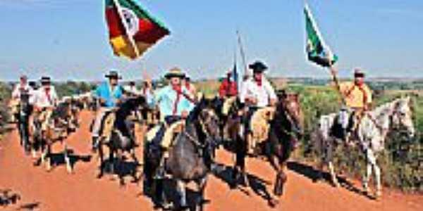 Cavalgada da Semana Farroupilha-Foto:CLICKSIL