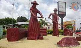 Lajedo do Tabocal - Lajedo do Tabocal-BA-Monumento ao Trabalhador Rural-Foto:agcesporte
