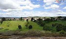 Lajedo do Tabocal - Lajedo do Tabocal-BA-Vista da cidade à partir do Lajedão-Foto:agcesporte
