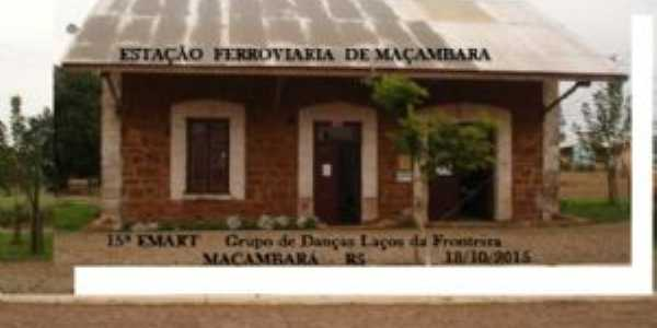 ANTIGA ESTA��OFERROVIARIA DE MA�AMBAR�, Por NADYR LAUSMANN